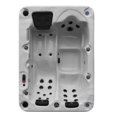 Montreal 3-Person 28-Jet Plug and Play Hot Tub with LED Lighting and Bluetooth Speakers