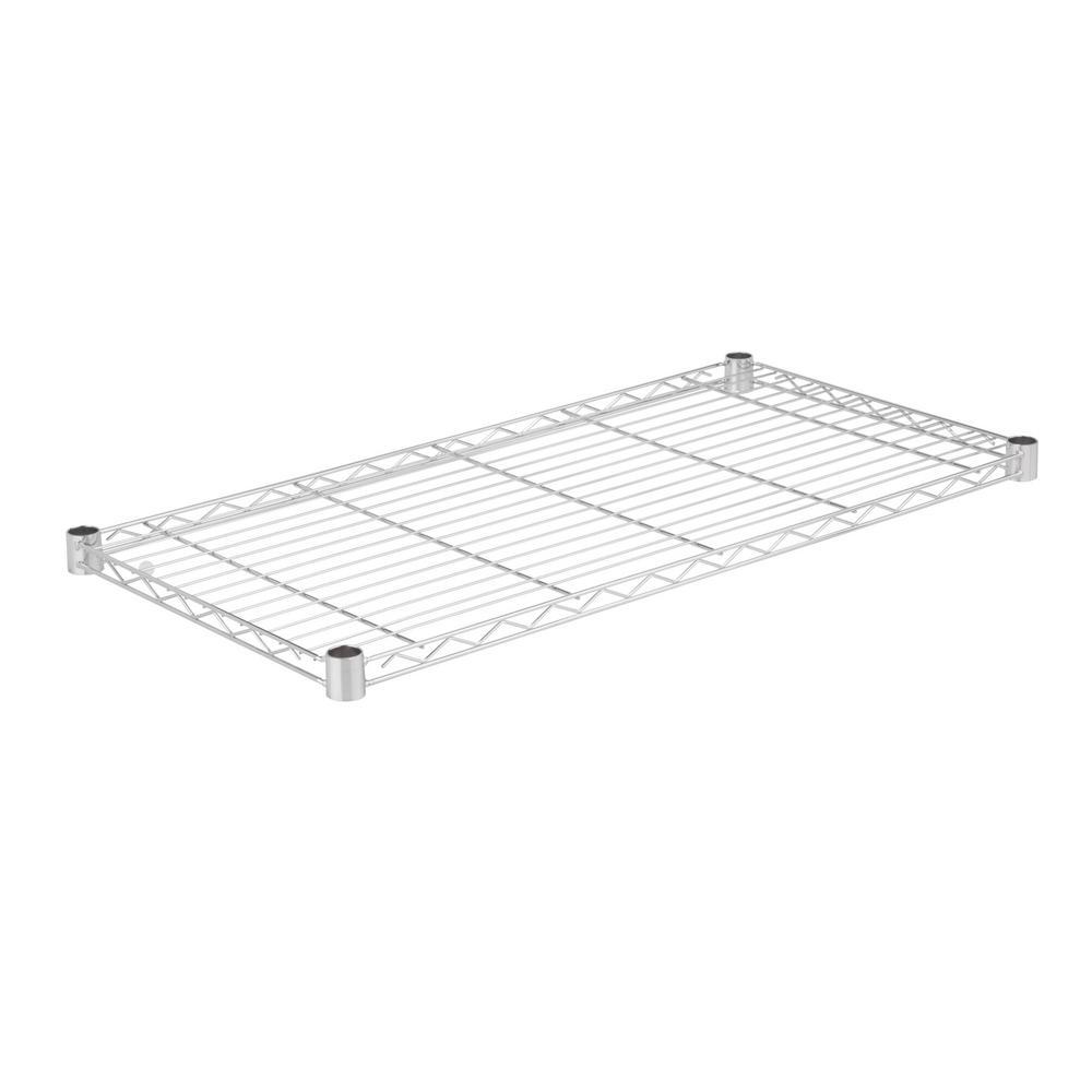 36 in. W x 18 in. D 350 lbs. Steel Shelf