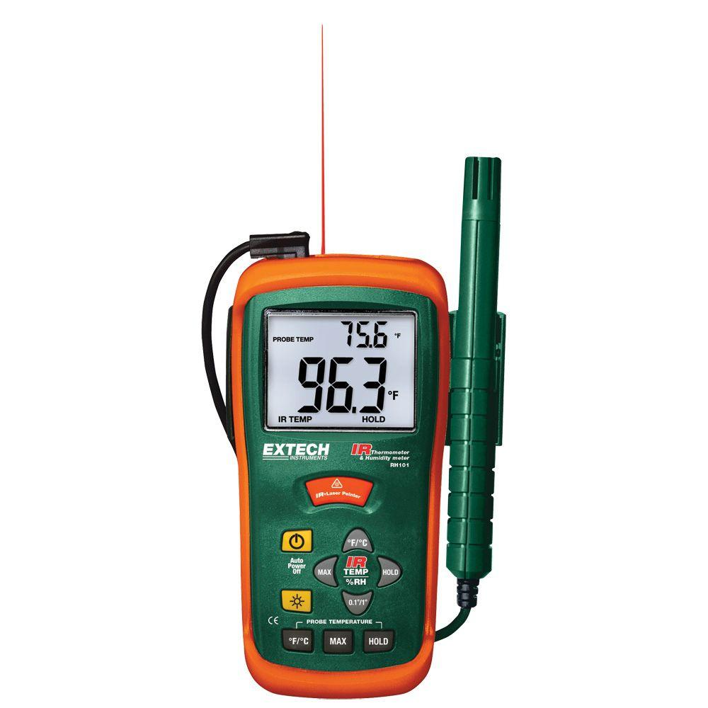 Hygro-Thermometer Plus IR Thermometer