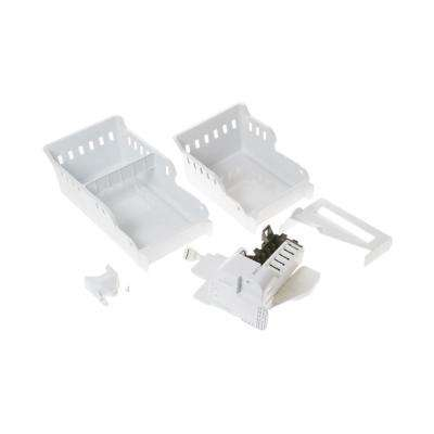 3 lbs. Optional Second Ice Maker Kit in White for GE Bottom Freezers