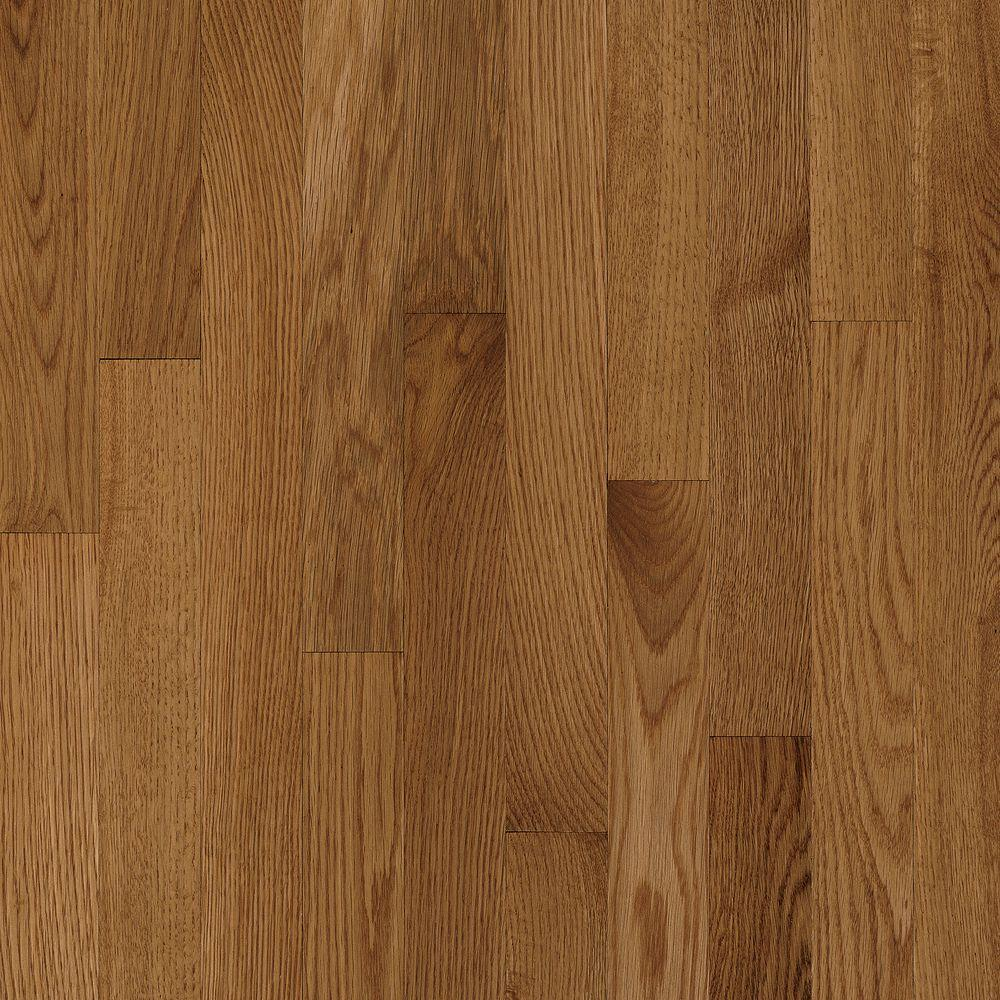 Bruce Natural Reflections Oak Mellow 5/16 in. Thick x 2-1/4 in. Wide x Random Length Solid Hardwood Flooring (40 sq. ft./case)