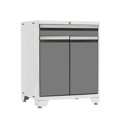 Pro 3 Series 37 in. H x 28 in. W x 22 in. D 18-Gauge Welded Steel Multifunction Cabinet in Platinum