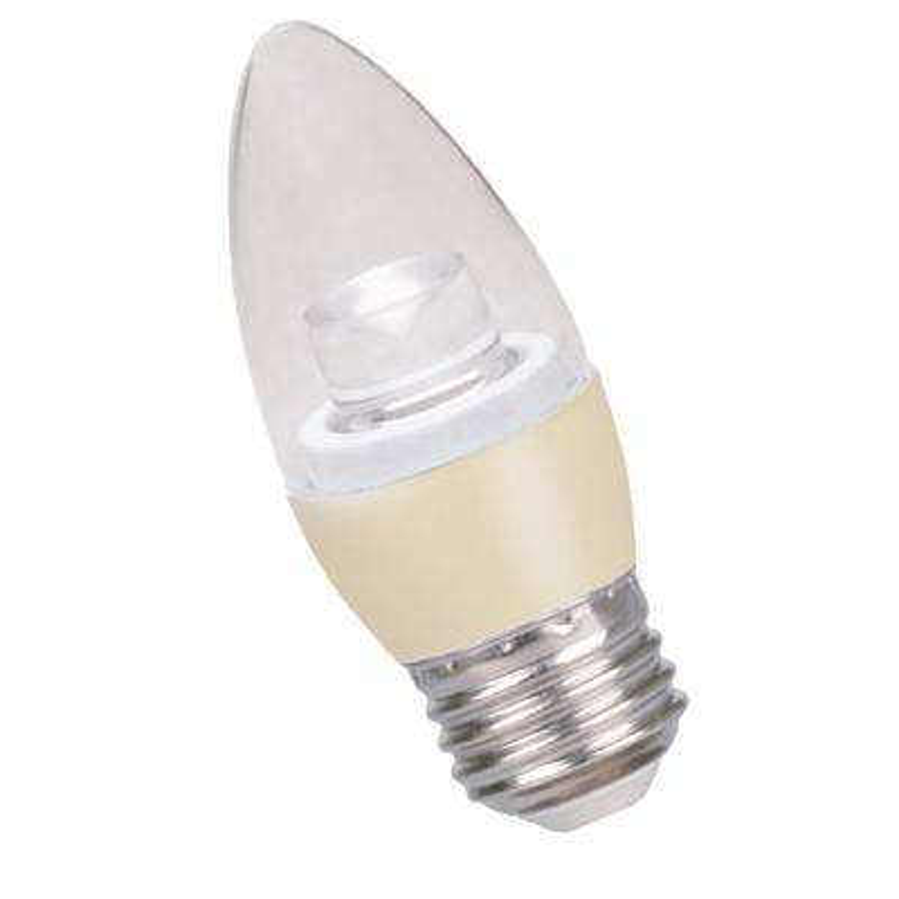 40-Watt Equivalent 5-Watt B11 Dimmable LED Medium Soft White 3000K Light Bulb 80183