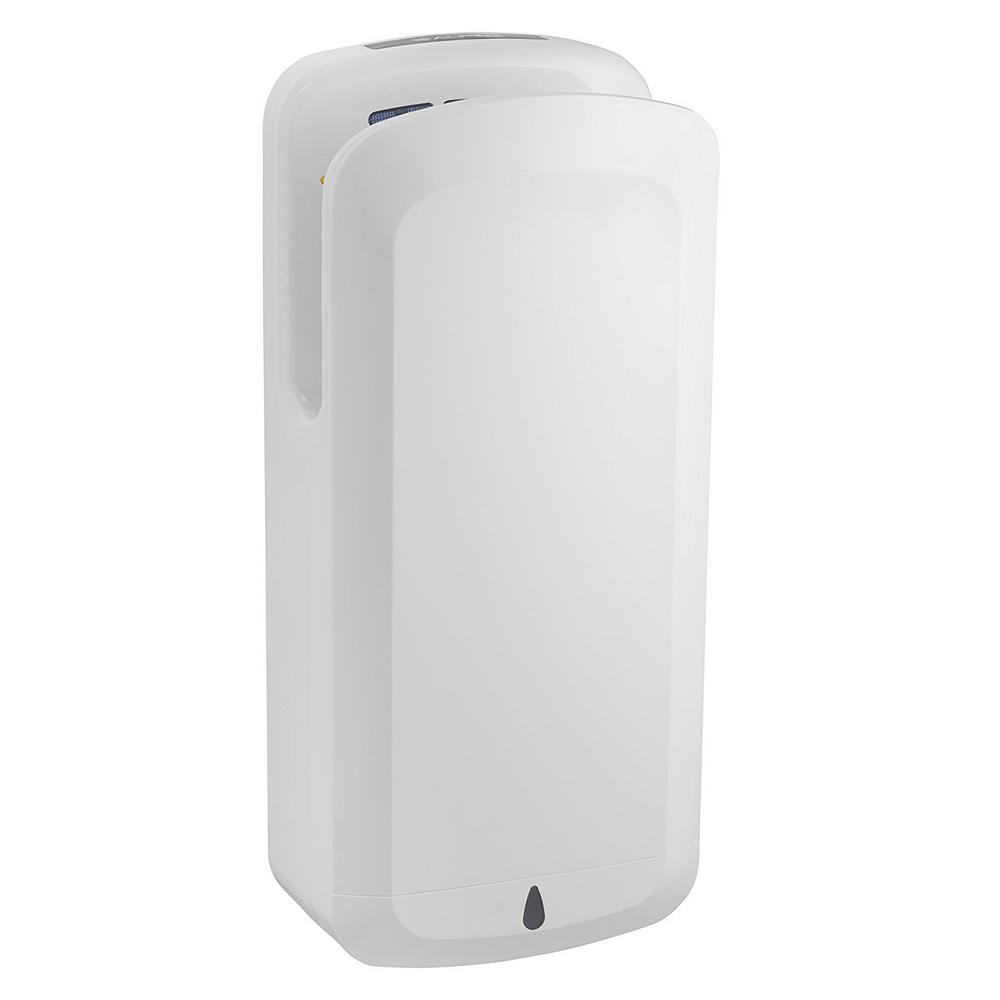 Alpine oak white high speed commercial 120 volt electric for Bathroom hand dryers electric