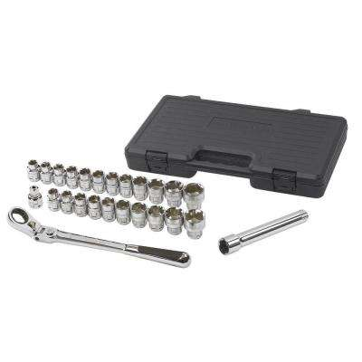 1/2 in. Drive Gear Ratchet Set (25-Piece)