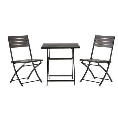 3 Piece Poly Lumber Outdoor Bistro Set