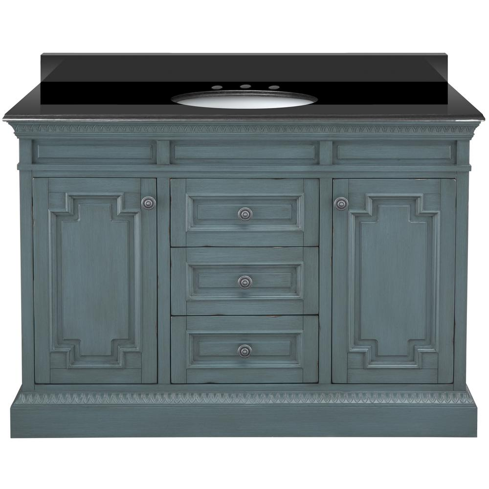 Home Decorators Collection Cailla 49 In W X 22 D Bath Vanity