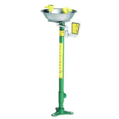 Traditional Series Pedestal-Mounted Eye and Face Wash System