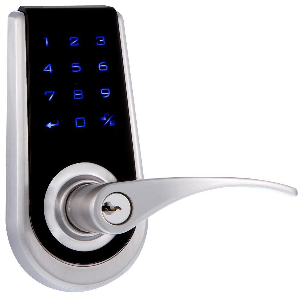 Bilbao Single Cylinder Stainless Steel Touch Screen Door Lock