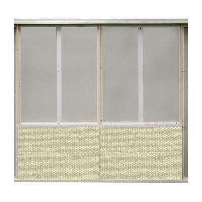20 sq. ft. Glitter Fabric Covered Bottom Kit Wall Panel