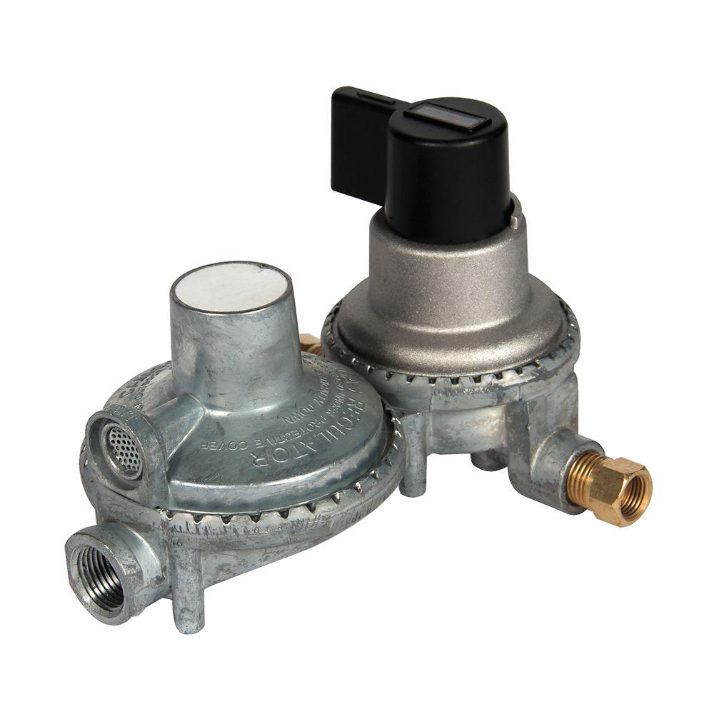 Propane Double Stage Auto-Changeover Regulator