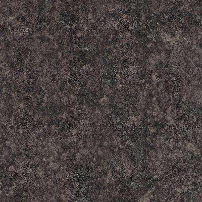 5 in. x 7 in. Laminate Countertop Sample in Mineral Jet with Premiumfx Radiance Finish