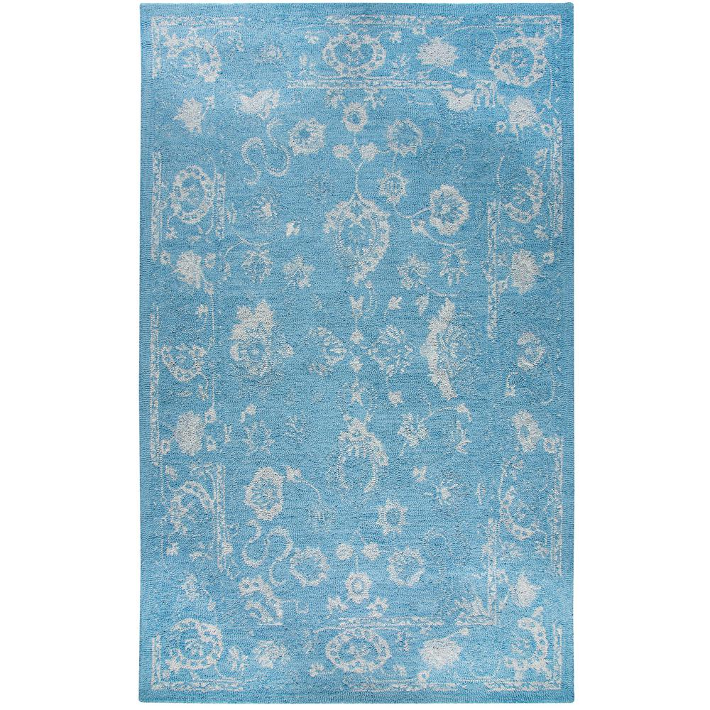 San Juan Turquoise Accent Rug: Dynamic Rugs Avalon Turquoise/Silver 5 Ft. X 8 Ft. Indoor