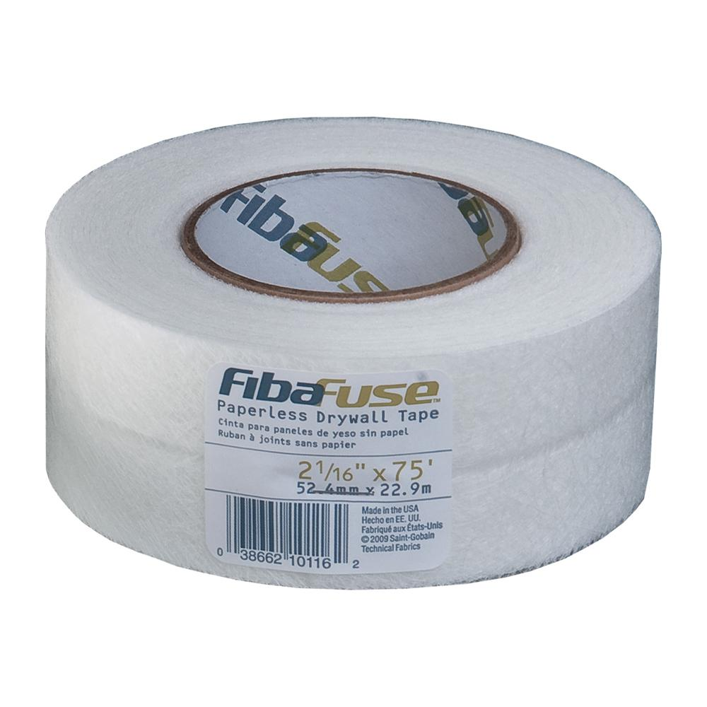 2-1/16 in. x 75 ft. White Paperless Drywall Joint Tape FDW8234-U