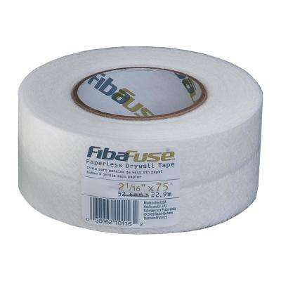 FibaFuse 2-1/16 in. x 75 ft. White Paperless Drywall Joint Tape