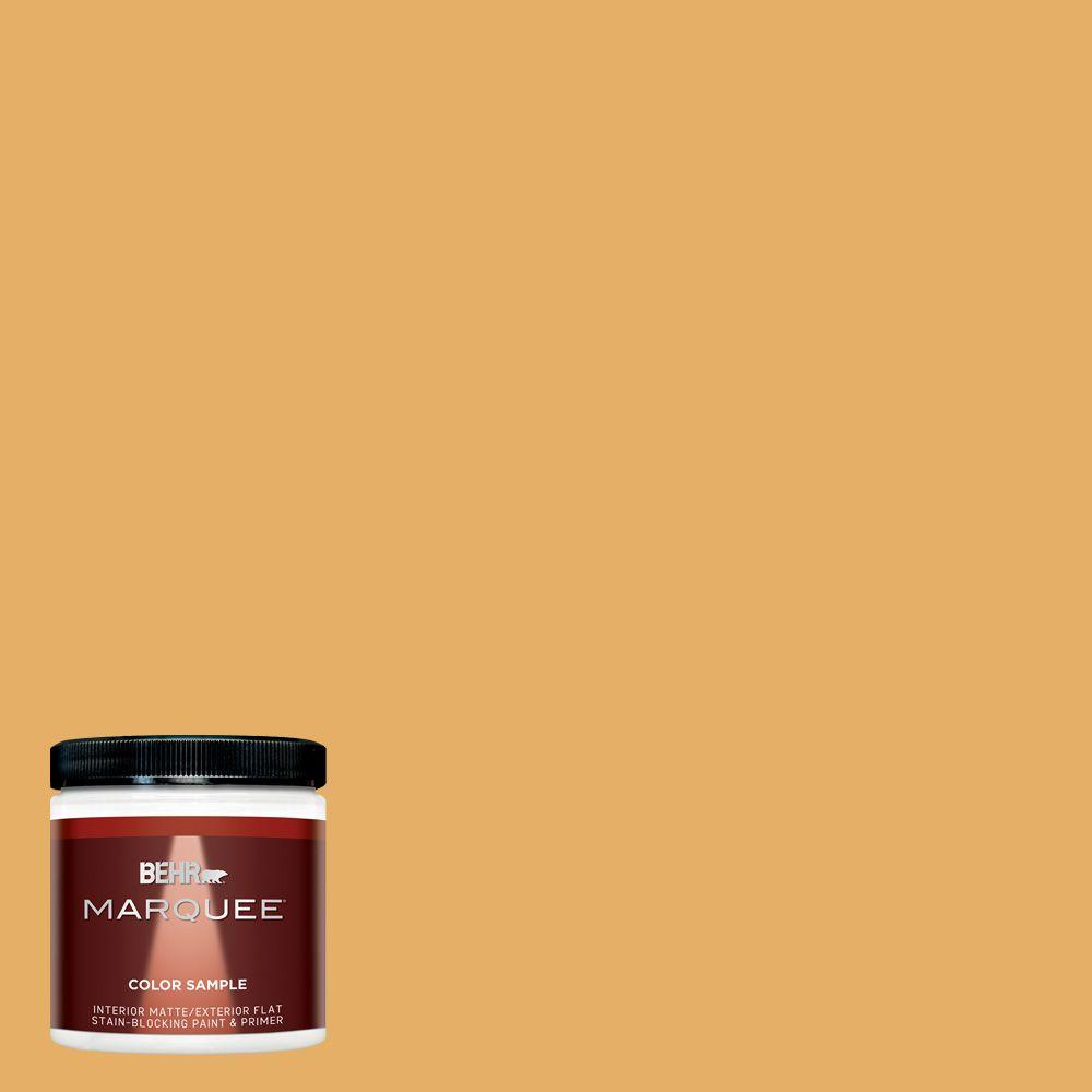 Behr Marquee 8 Oz Mq4 11 Lamplit Interior Exterior Paint Sample Mq30416 The Home Depot