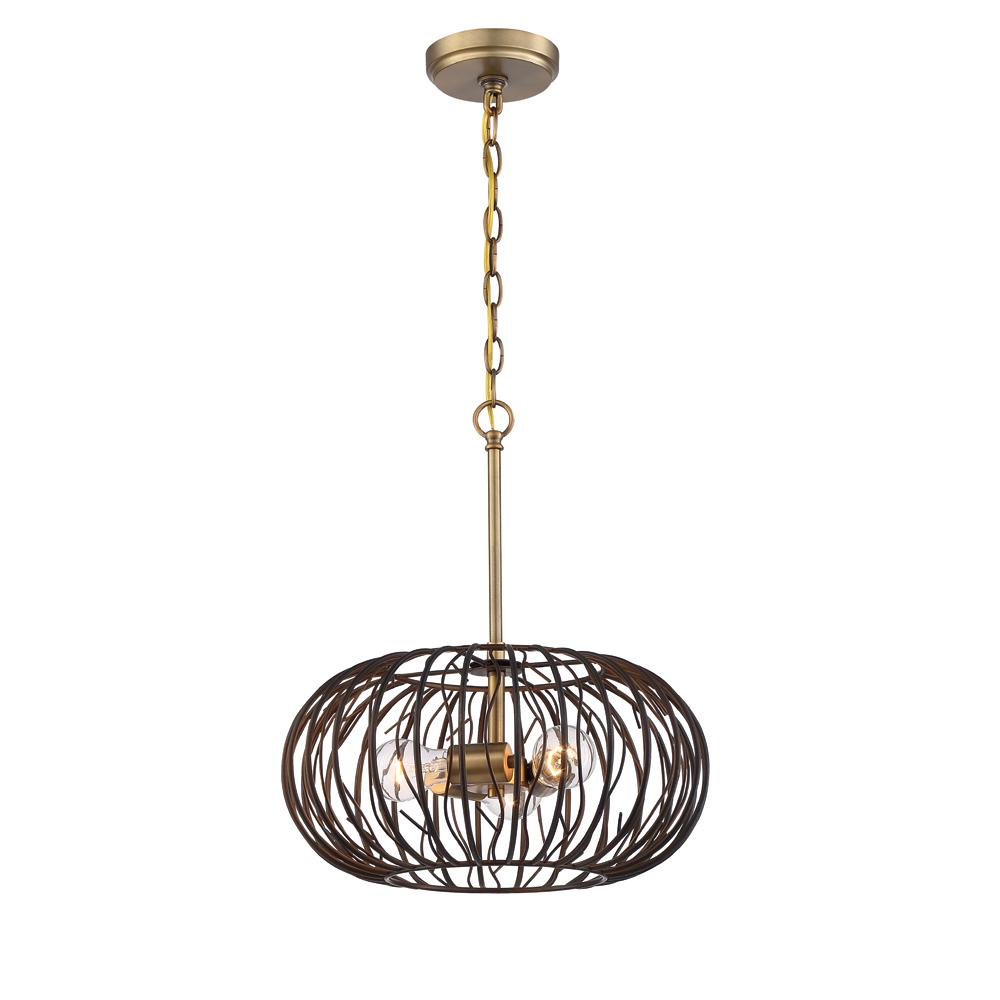 Designers Fountain Kala 3-Light Makamae Hanging Pendant