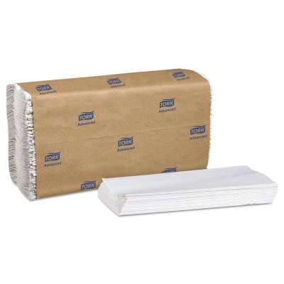 Advanced 1-Ply C-Fold Towels in White (150/Pack, 16 Pack/Carton)