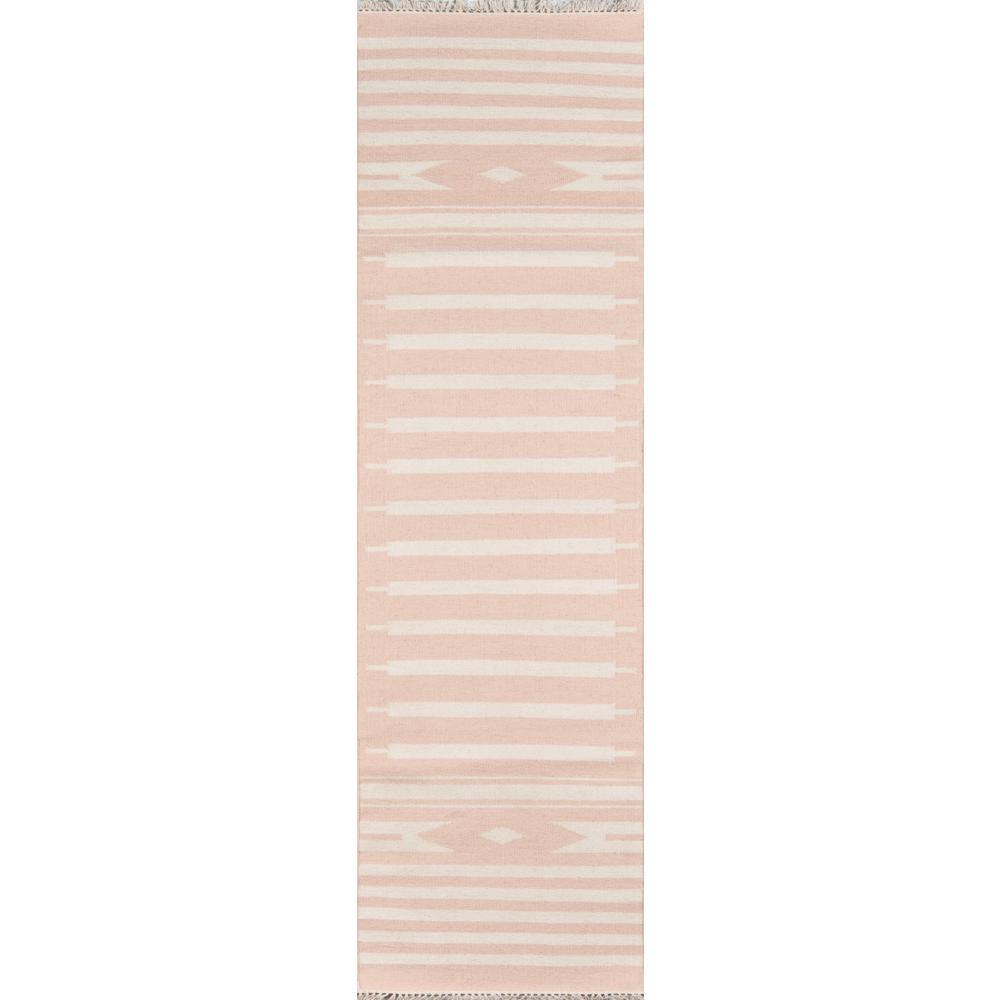 Billings Pink 2 ft. 3 in. x 8 ft. Runner