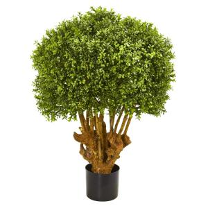 3 Ft. Boxwood Artificial Topiary Tree