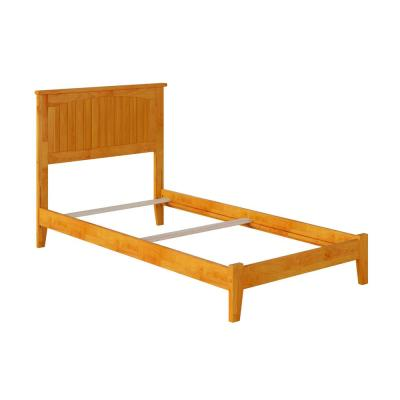 Nantucket Twin Traditional Bed in Caramel