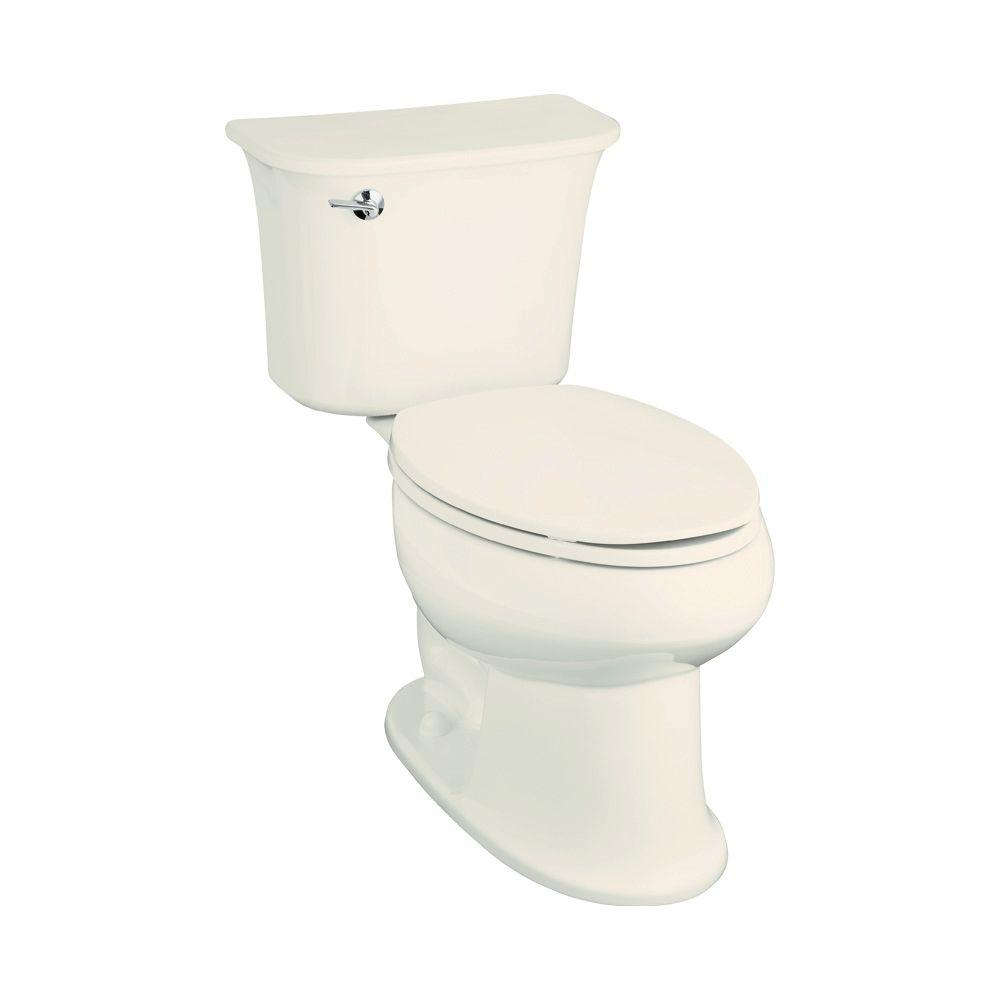 STERLING Stinson 2-piece 1.6 GPF Single Flush Elongated Toilet in Biscuit