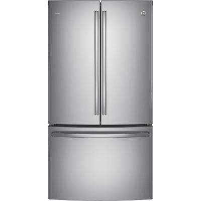 Profile 23.1 cu. ft. French Door Refrigerator in Stainless Steel, Counter Depth and ENERGY STAR
