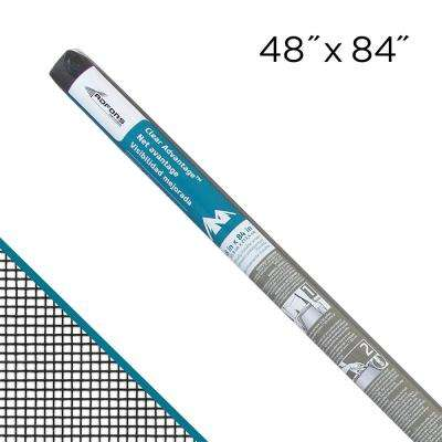 Clear Advantage 48 in. x 84 in. Charcoal Fiberglass Insect Screen
