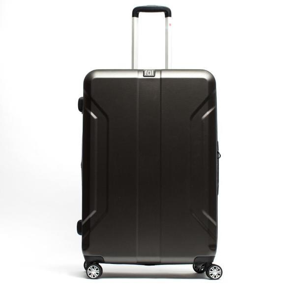 3b428581560e Payload 24 in. Charcoal Upright ABS Plastic Hard Case Spinner Rolling  Luggage Suitcase