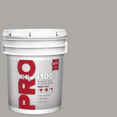 5 gal. #PPU18-14 Cathedral Gray Dead Flat Interior Paint
