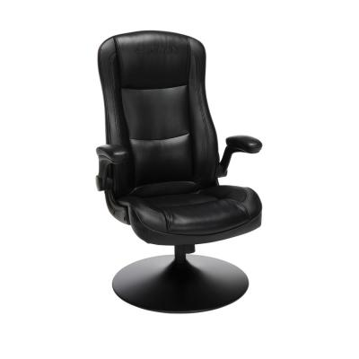 800 Racing Style Gaming Rocker Chair, Rocking Gaming Chair, in Black (RSP-800-BLK-BLK)