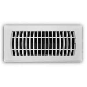 TruAire 20 in  x 30 in  White Return Air Filter Grille-H190
