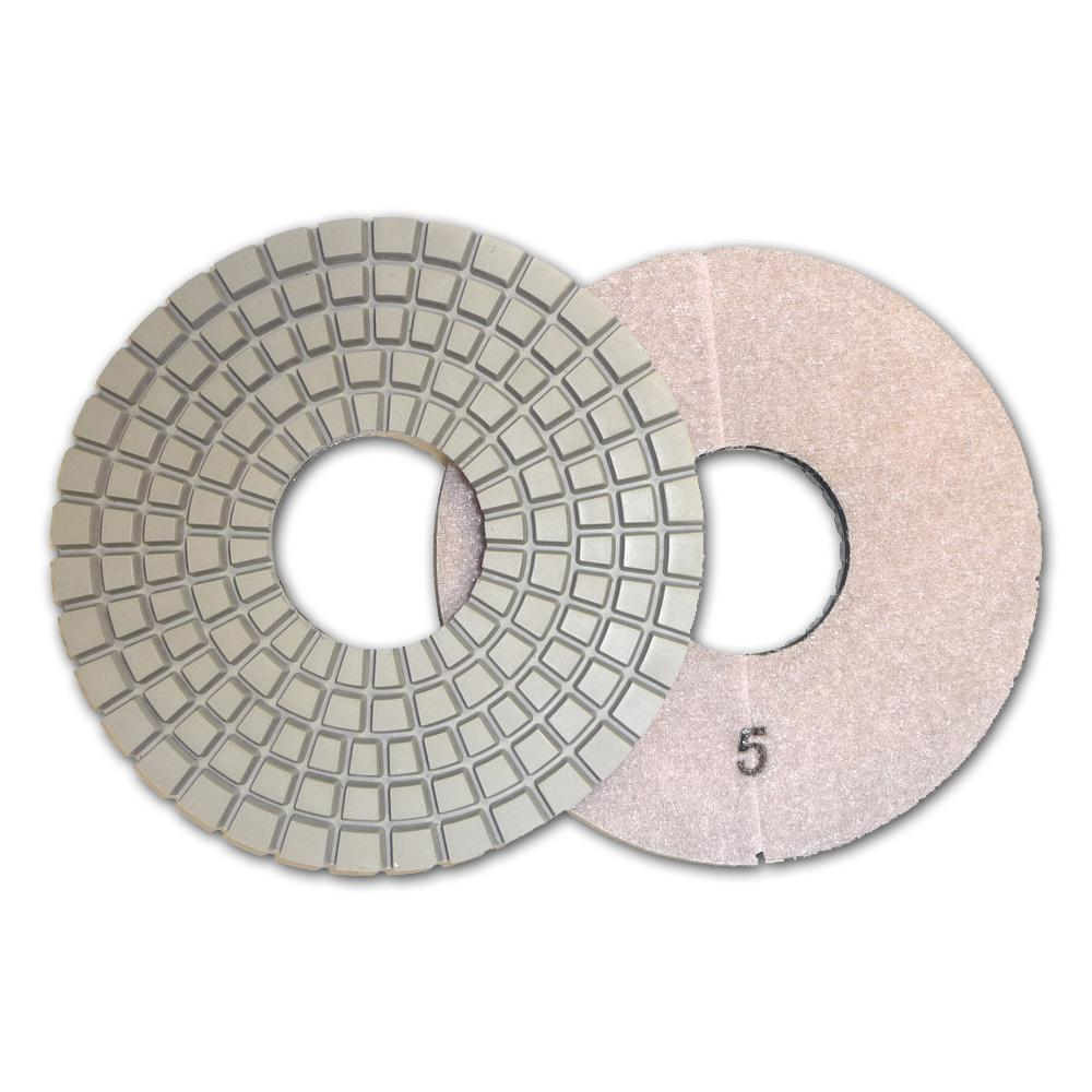 Con-Shine 6 in. 5-Step Dry Diamond Polishing Pads Step 5