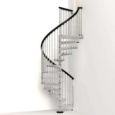 Enduro 63 in. Galvanized Steel Spiral Staircase Kit