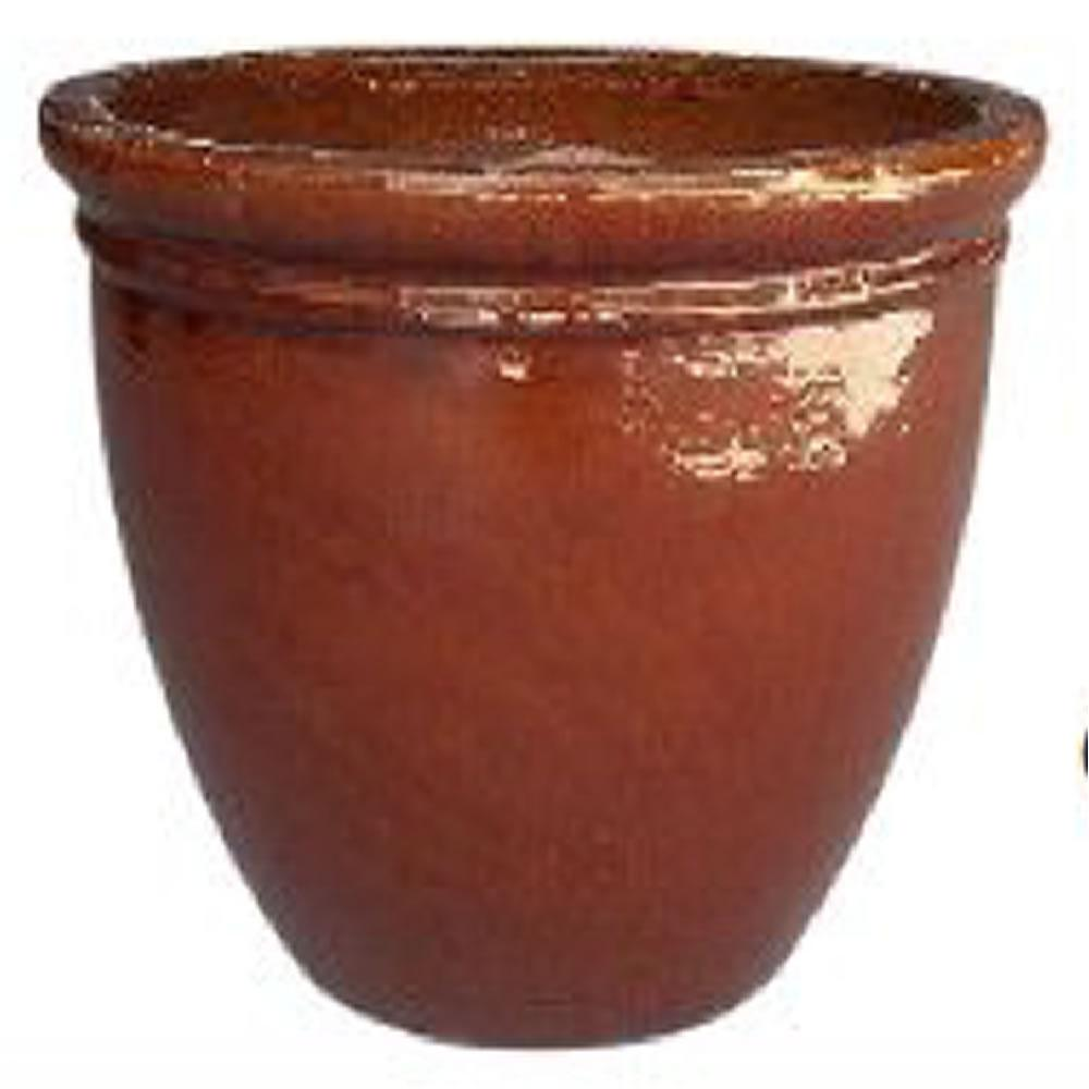 Sku 1004187500 Large 19 5 In Dark Red Clay Pot
