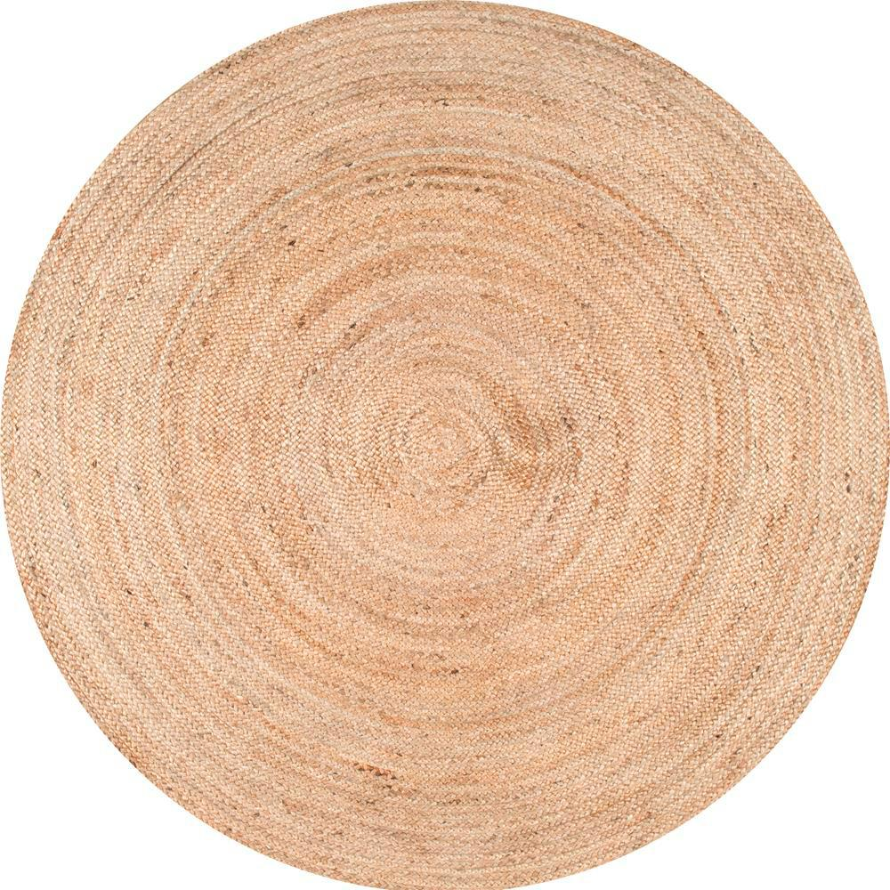 nuLOOM Rigo Natural 6 ft. x 6 ft. Round Area Rug
