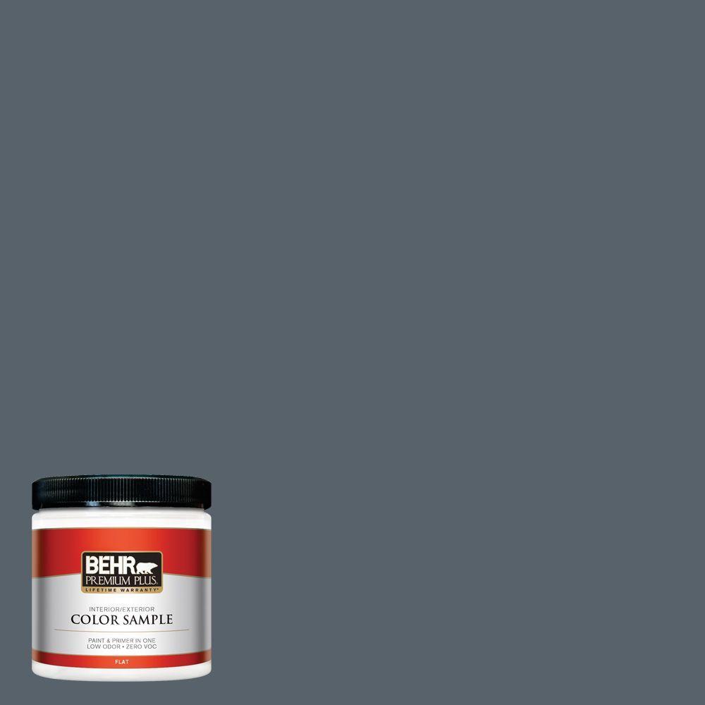 BEHR Premium Plus 8 oz. #N490-6 Calligraphy Interior/Exterior Paint Sample