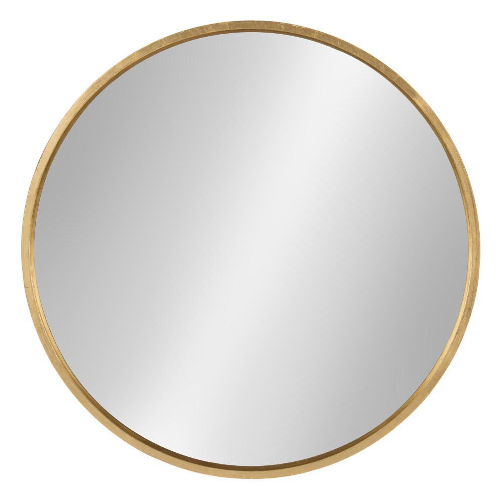 Travis Round Gold Mirror