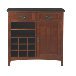 Deals on Home Decorators Collection Artisan 36 in. W 2-Drawer Bar Cabinet