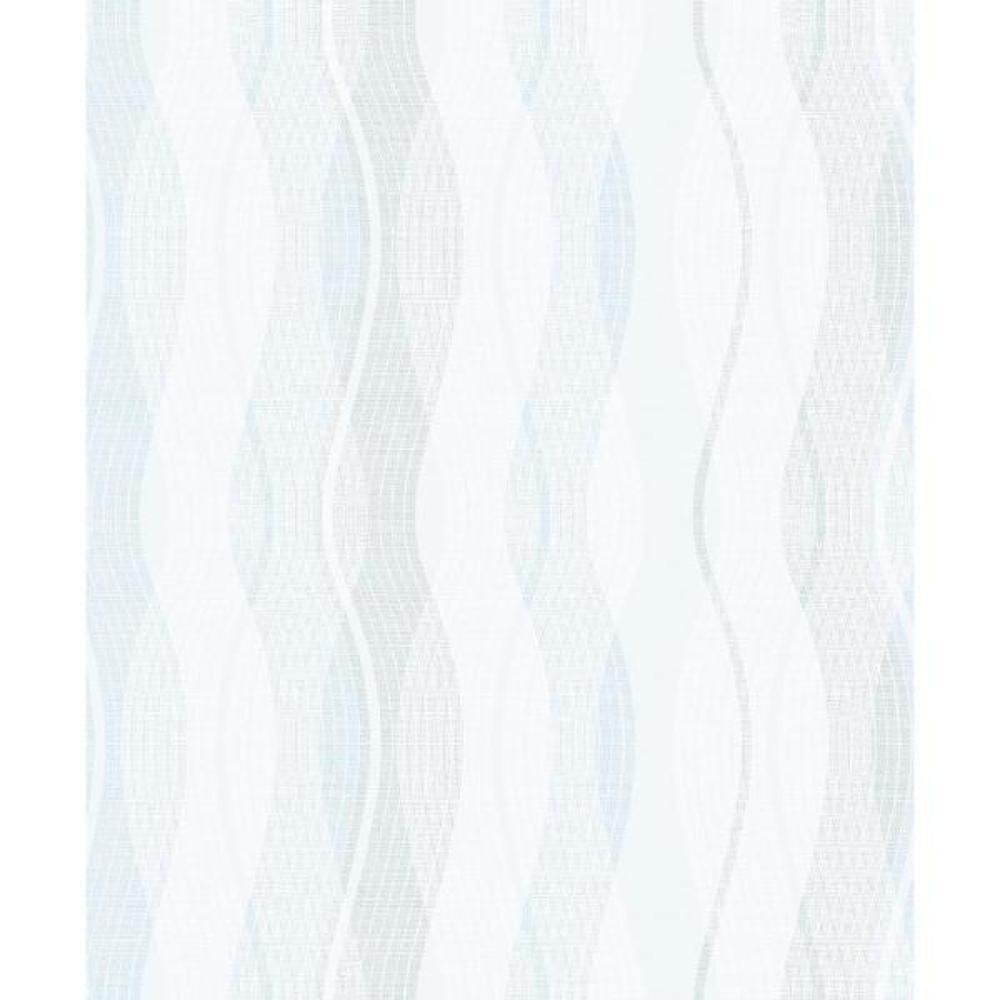 . 57 8 sq  ft  Jenner Light Blue Wave Wallpaper