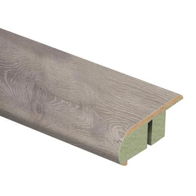 Terrado Oak 3/4 in. Thick x 2-1/8 in. Wide x 94 in. Length Laminate Stair Nose Molding