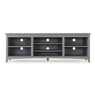 Roxbury Weathered Grey 70 in. TV Stand