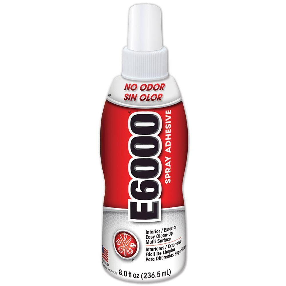 E6000 8 fl. oz. Spray Adhesive (6-Pack)