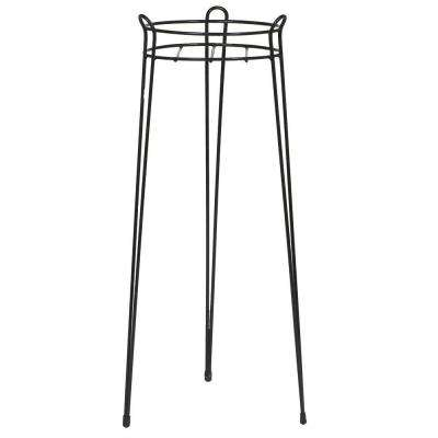 30 in. Black Basic Steel Plant Stand