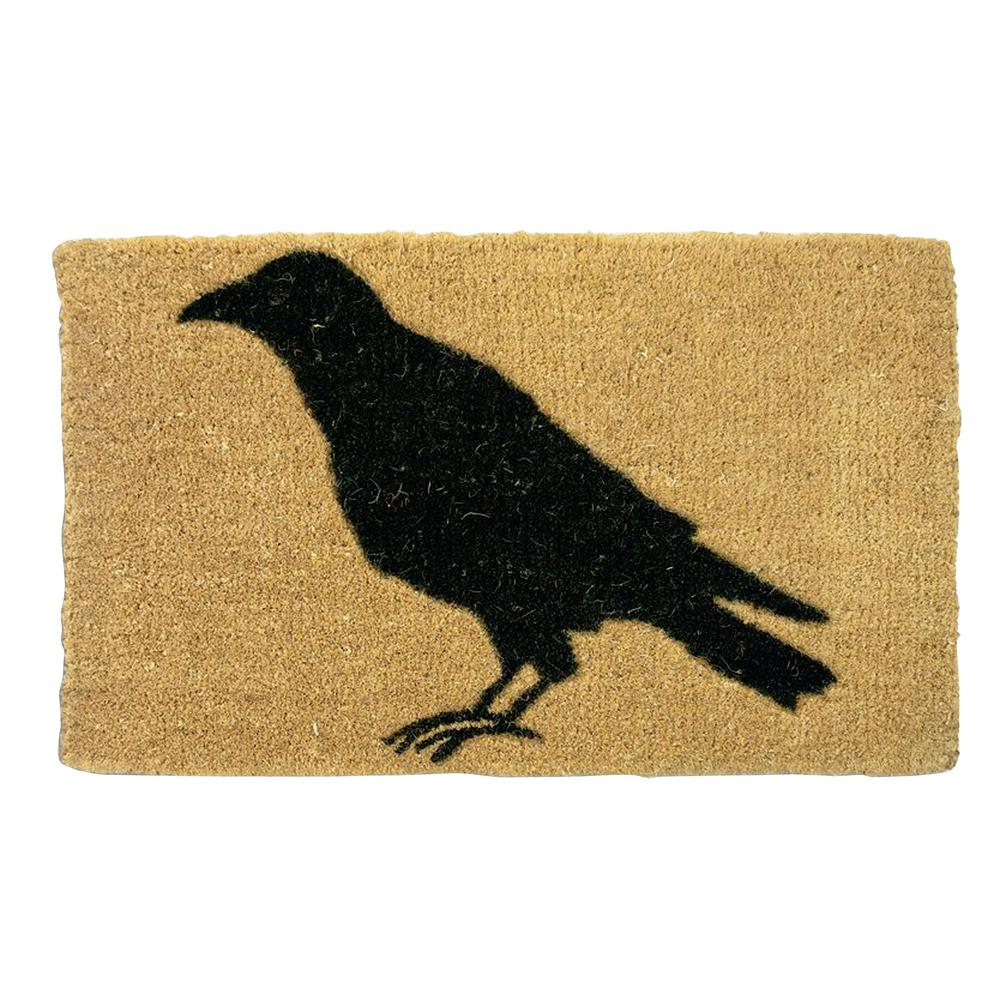 Tag Black Crow 18 in. x 30 in. Coir Mat-TAG640064 - The Home Depot