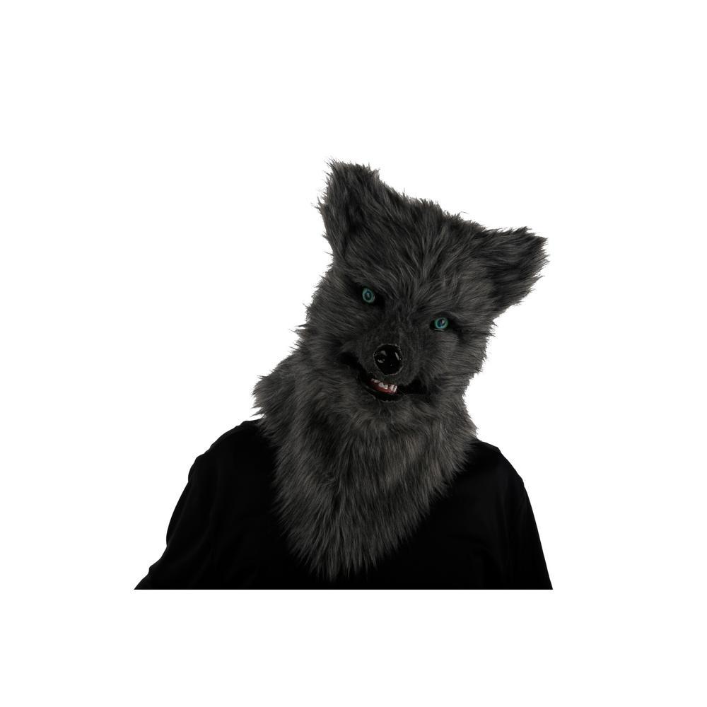 10.3 in. Animalistic Masks-Gray Fox