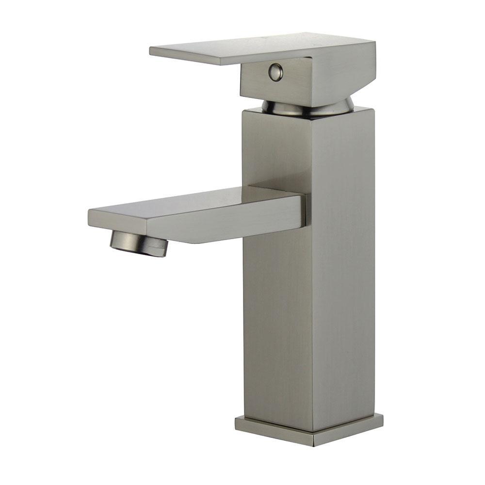 Granada Single Hole Single-Handle Bathroom Faucet in Brushed Nickel