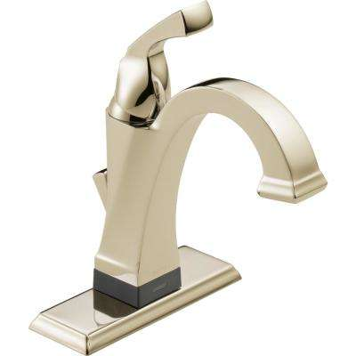 Dryden Single Hole Single-Handle Bathroom Faucet with Touch2O.xt Technology in Polished Nickel