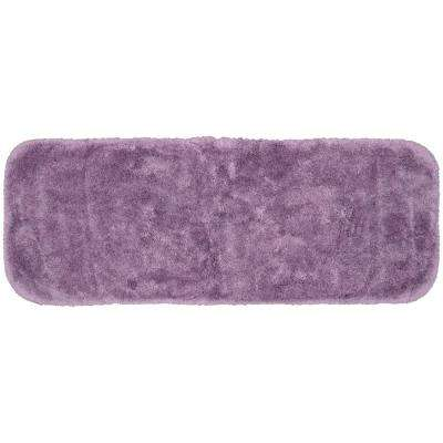 Finest Luxury Purple 22 in. x 60 in. Plush Nylon Bath Mat