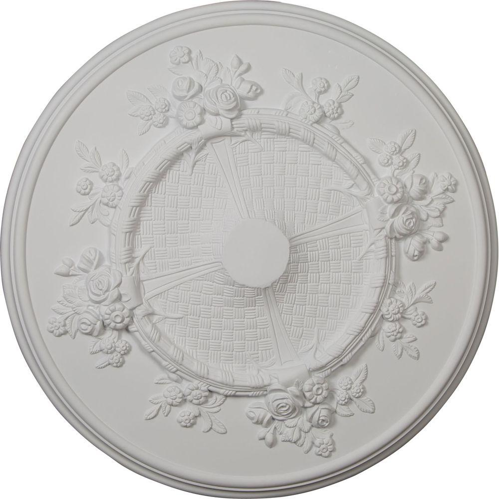 27 in. Flower Ceiling Medallion